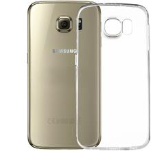 Non-Brand TPU Clear Case Back Cover For Galaxy S6